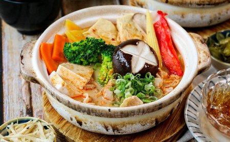 辛口豬肉鍋定食