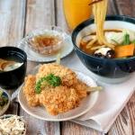 雞肉串揚咖哩烏龍麵