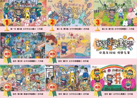 樹太老_我是小小畫家第九屆得獎名單_中高年級組